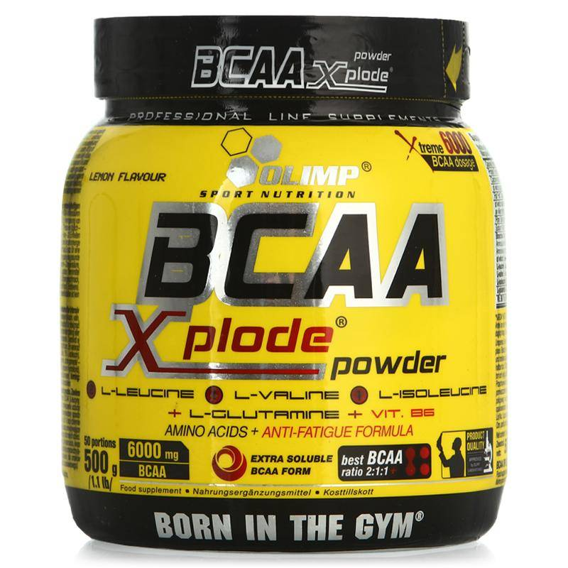 Как принимать комплекс bcaa xplode powder от олимп