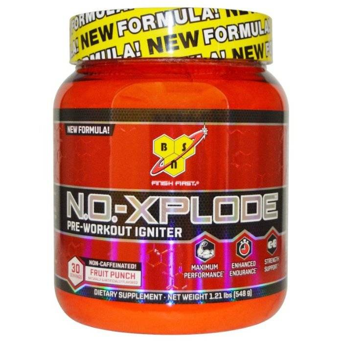 No-xplode new formula (bsn)