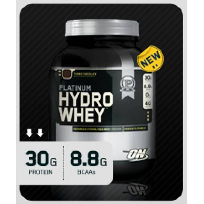 Platinum hydrowhey (optimum nutrition)