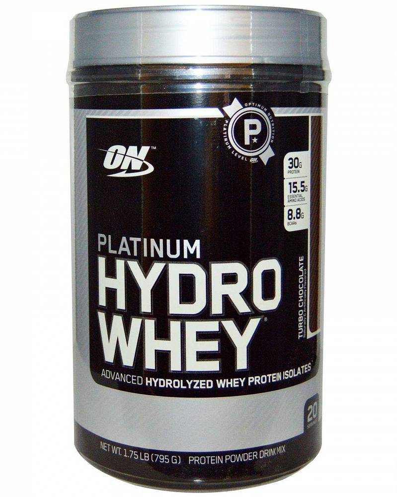 Platinum hydrowhey от optimum nutrition