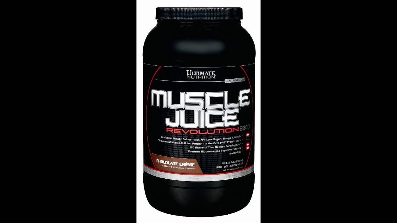 Muscle juice revolution 2600 от ultimate nutrition