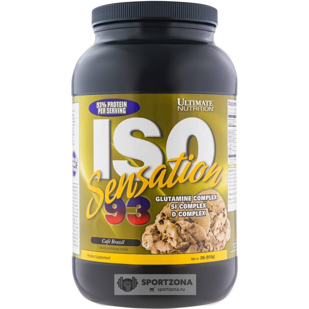 Iso sensation (ultimate nutrition)