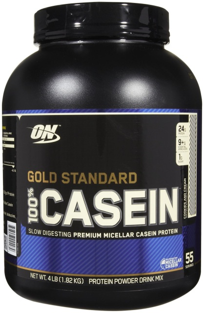 100% casein gold standard (optimum nutrition)