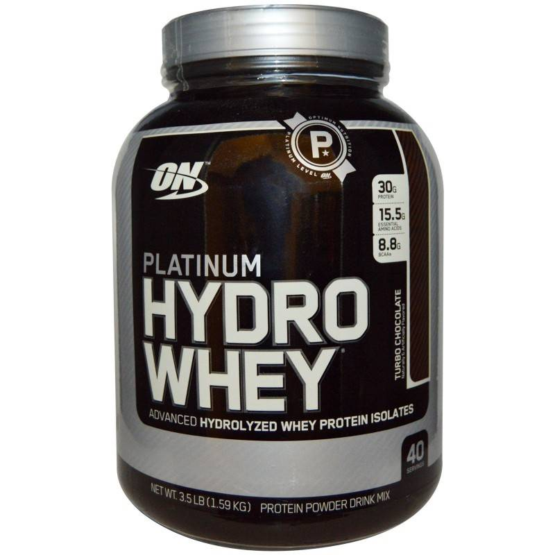 Platinum hydrowhey (optimum nutrition) — sportwiki энциклопедия