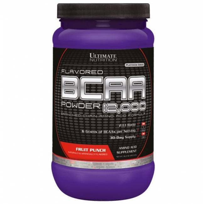 Состав комплекса bcaa powder 12000 от ultimate nutrition