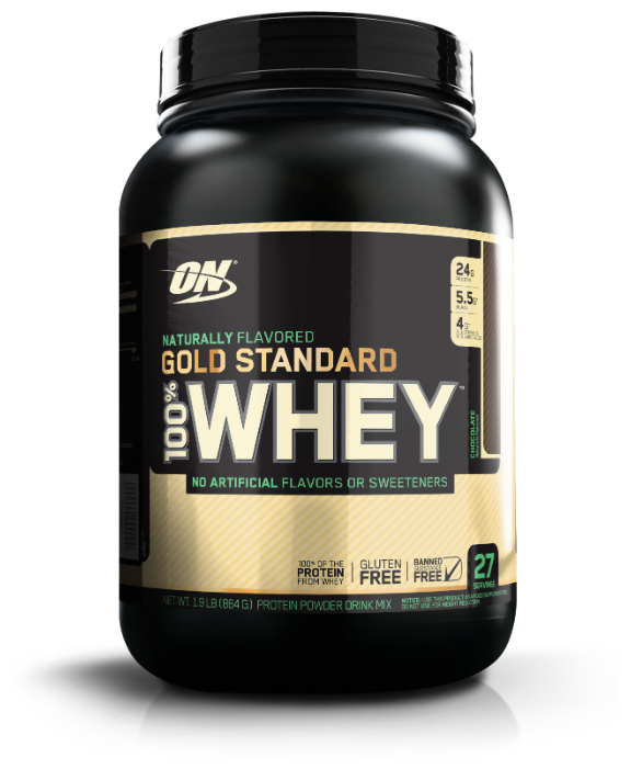 100% whey gold standard (optimum nutrition)
